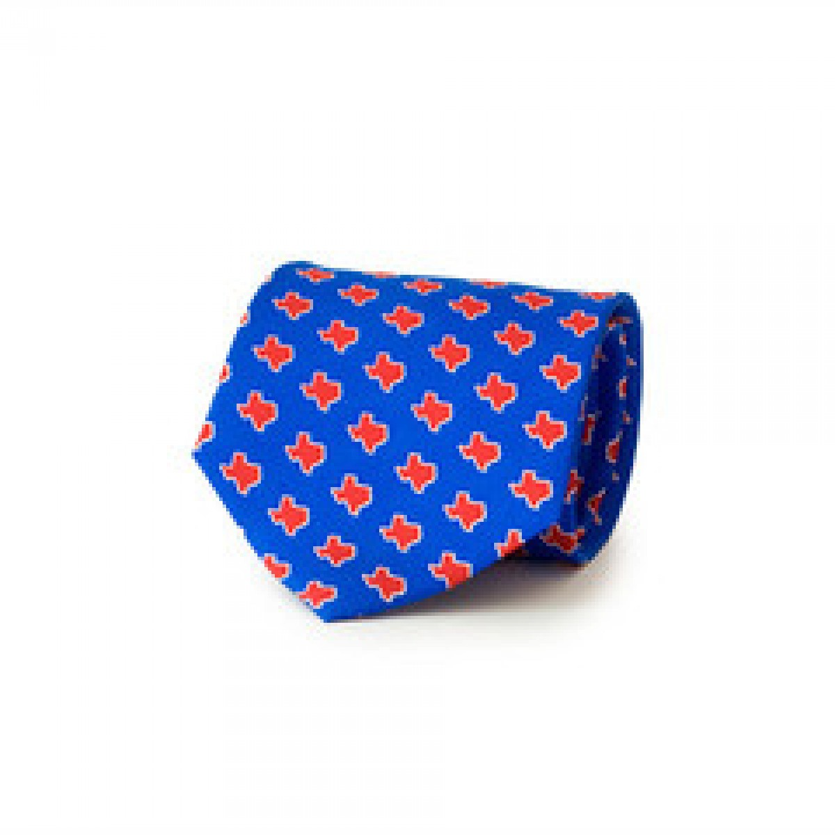 Blue TX Gameday Tie